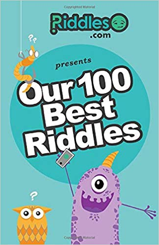 Picture of riddles.com 100 Best Riddles Book