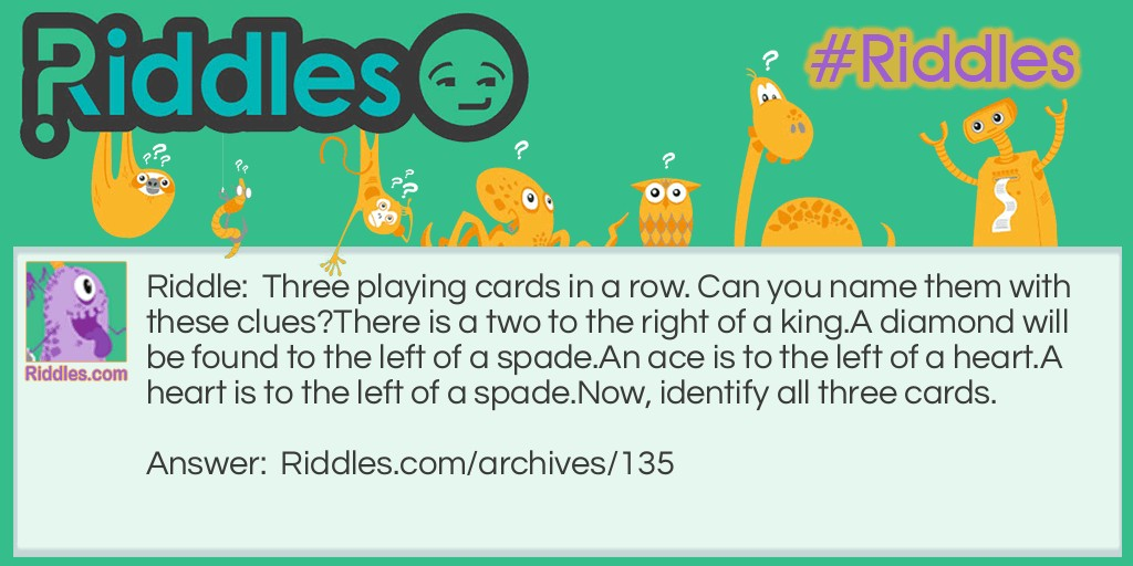Playing Cards Riddle Meme.