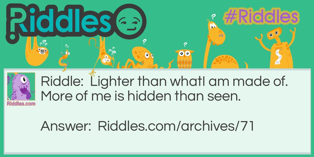 I am Hidden Riddle Meme.