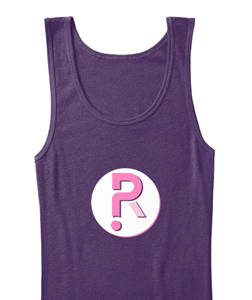Picture of Ladies Superhero Riddles Logo Tank
