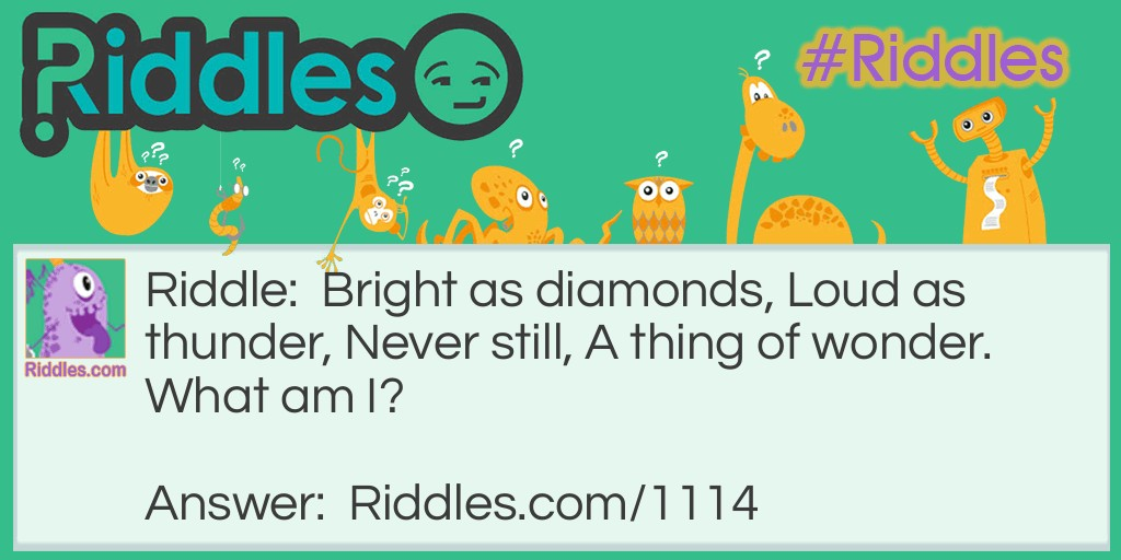 Wonderful and bright Riddle Meme.