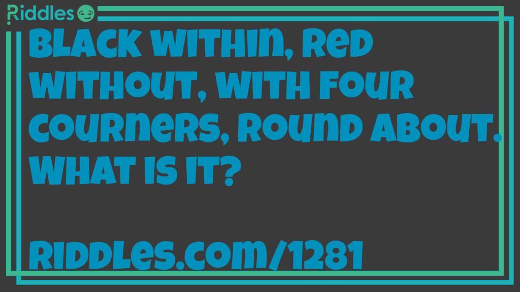 Four Corners Riddle Meme.