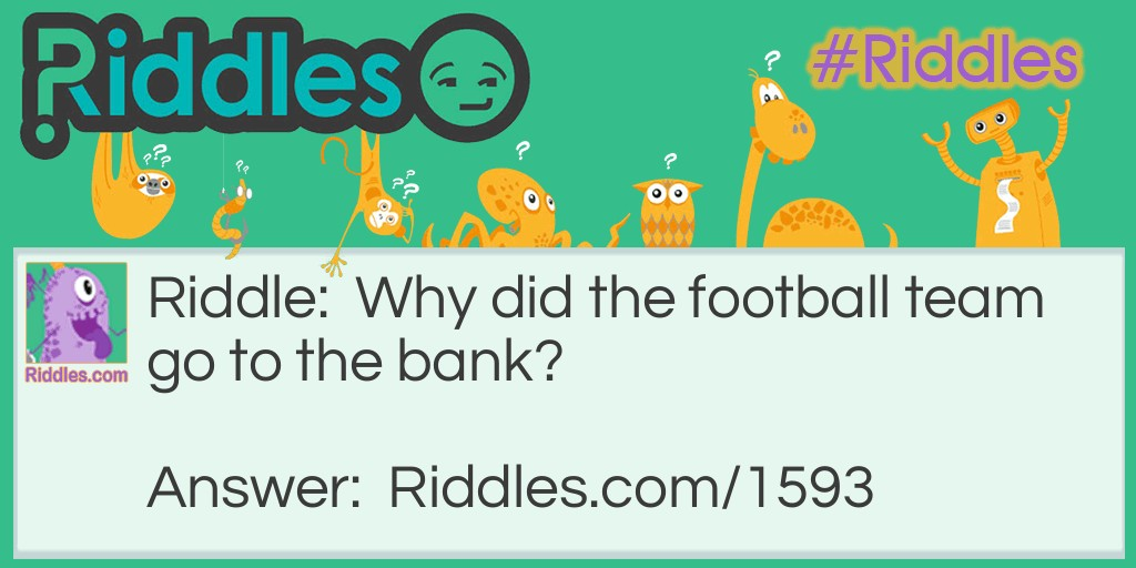 Football time Riddle Meme.