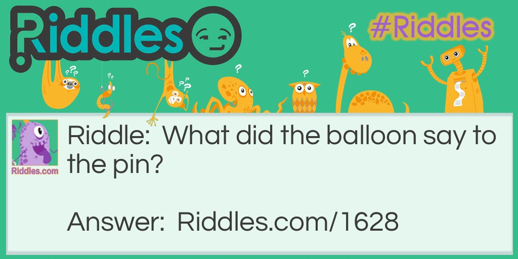 The balloon Riddle Meme.