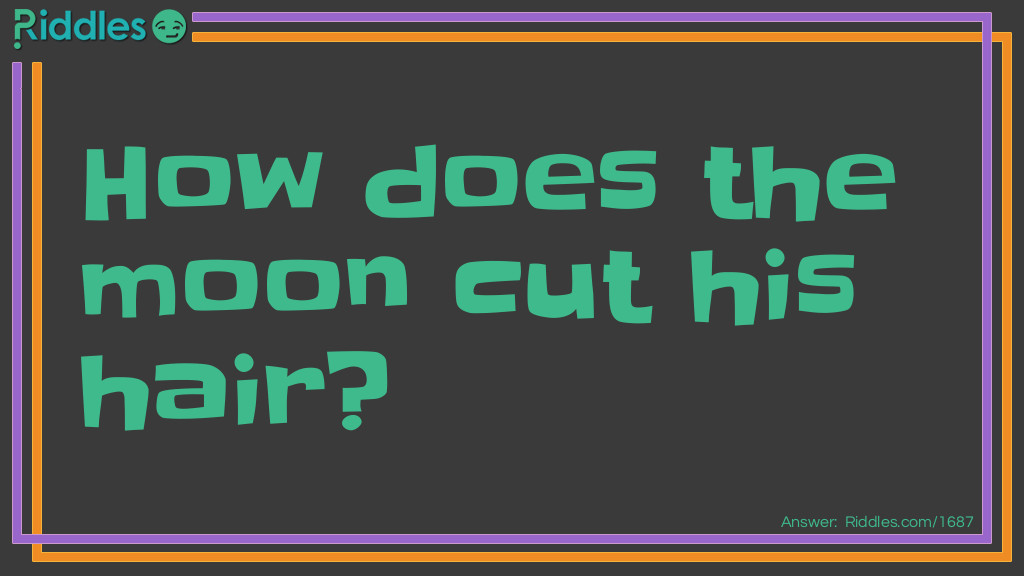Hair Cut Riddle Meme.