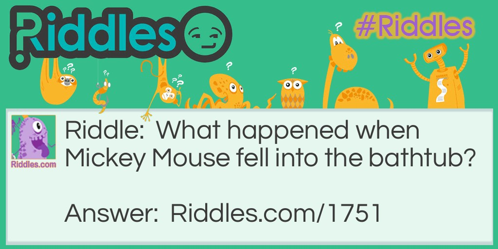 The Cleanest Mouse Riddle Meme.
