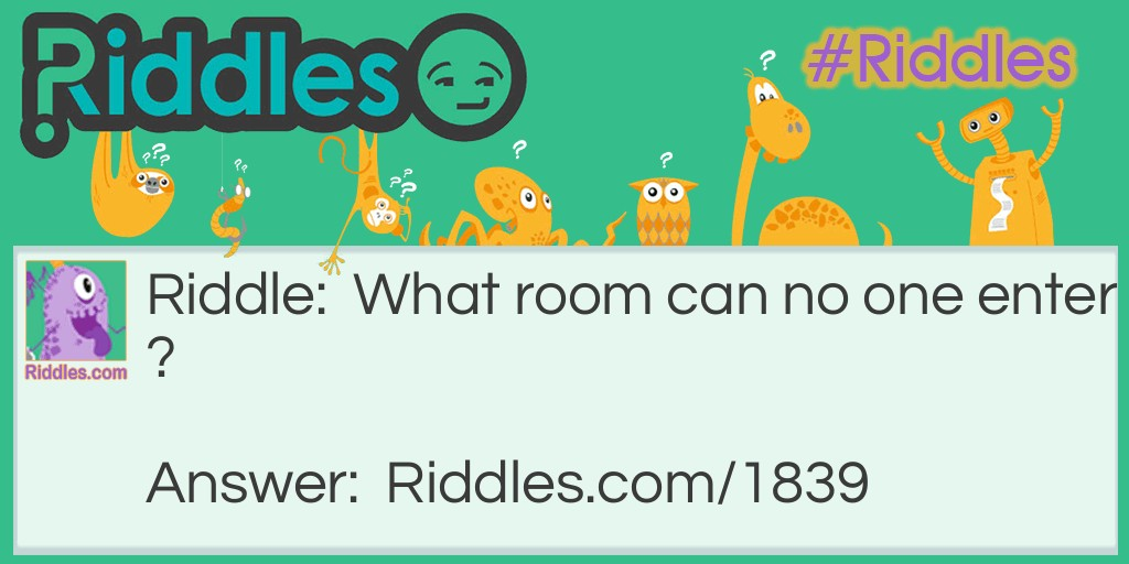 Roomless Room Riddle Meme.