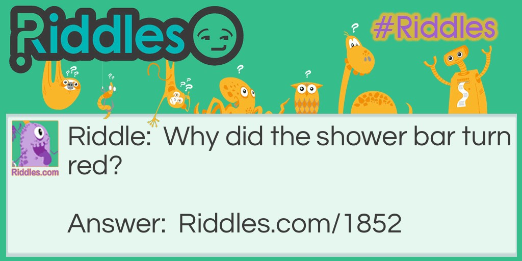 Shower Bar Riddle Meme.