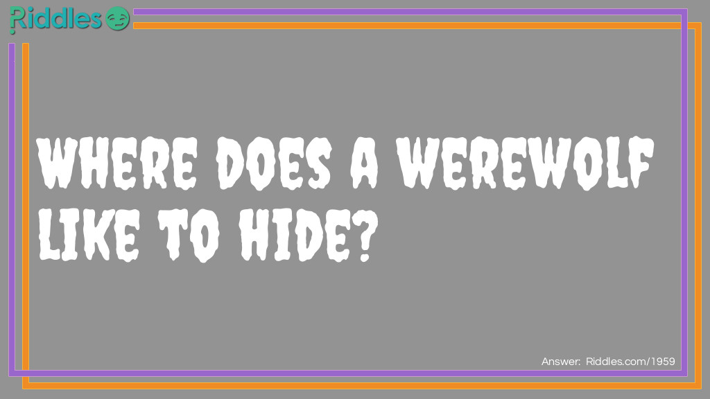 Hide and Seek Riddle Meme.