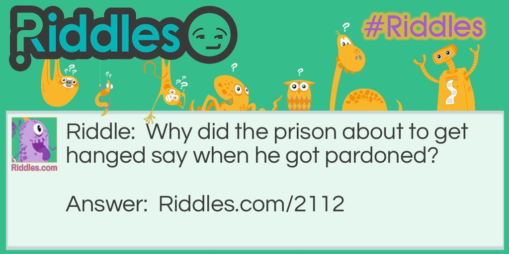 Pardoned Riddle Meme.