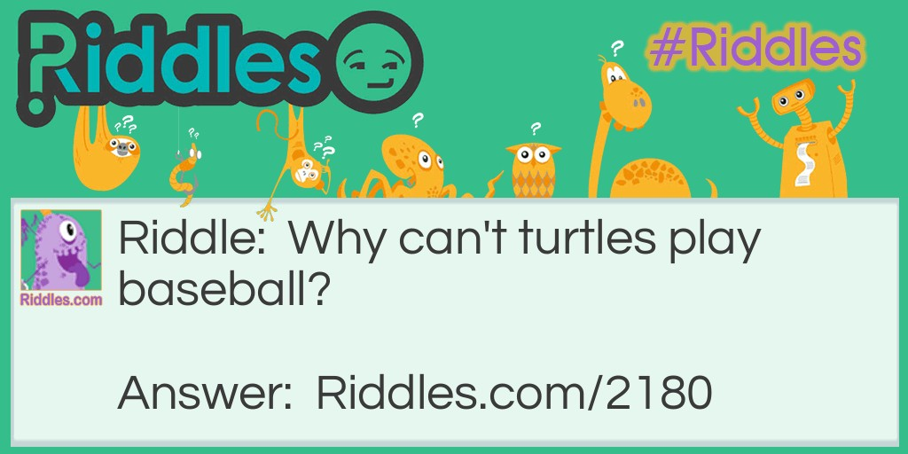 Turtles Riddle Meme.