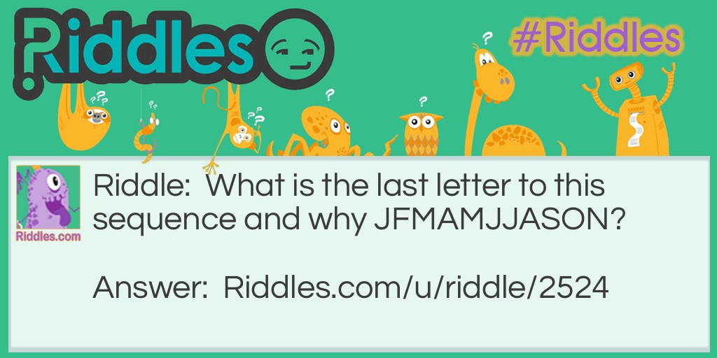 What is the last letter Riddle Meme.