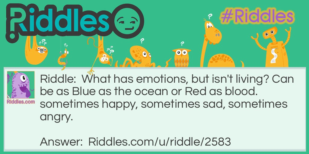 Emotion Riddle Meme.