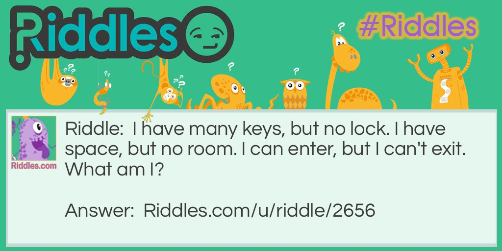 Keys in a Space Riddle Meme.