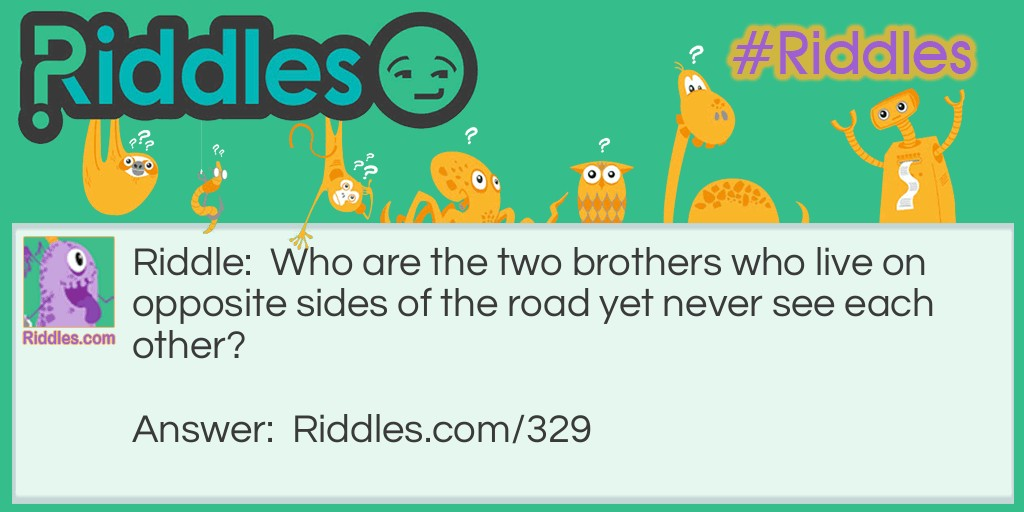 Opposite Sides Riddle Meme.