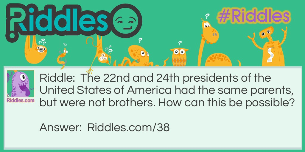 Presidential Ties Riddle Meme.