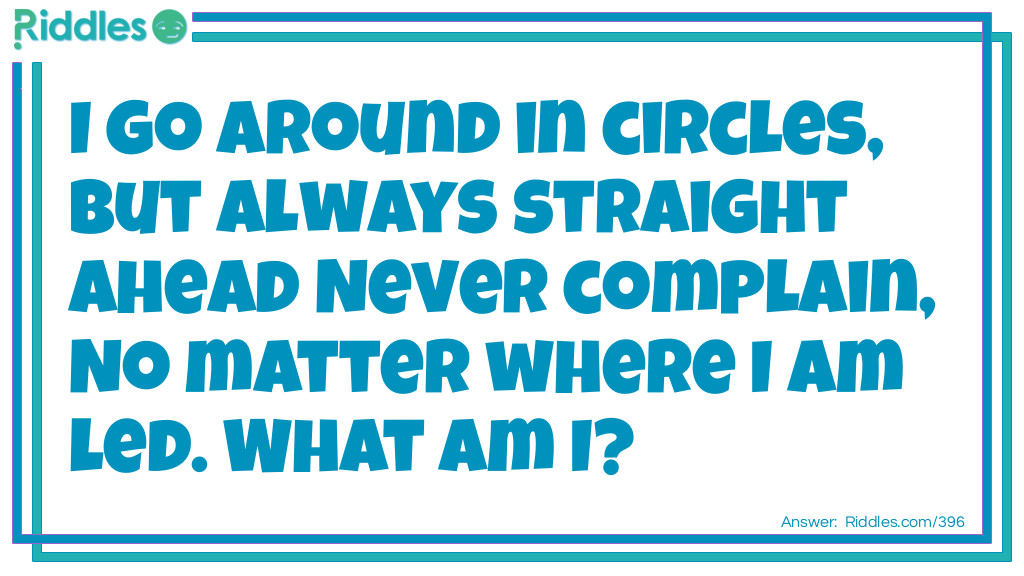 Circling Straight Riddle Meme.