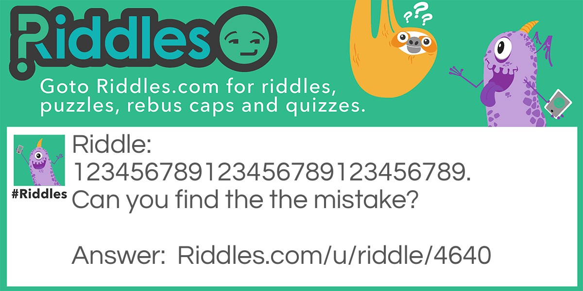 Mistakes  Riddle Meme.