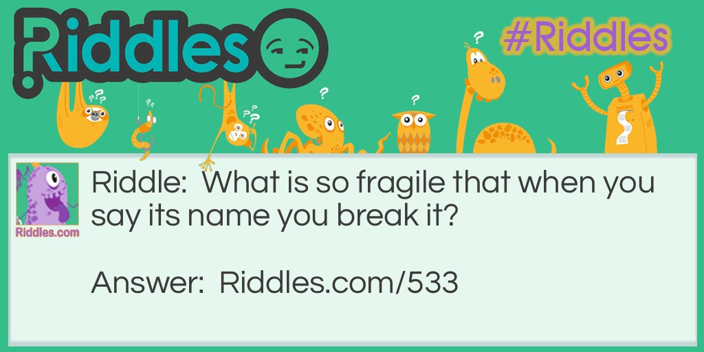 Fragile Riddle Meme.