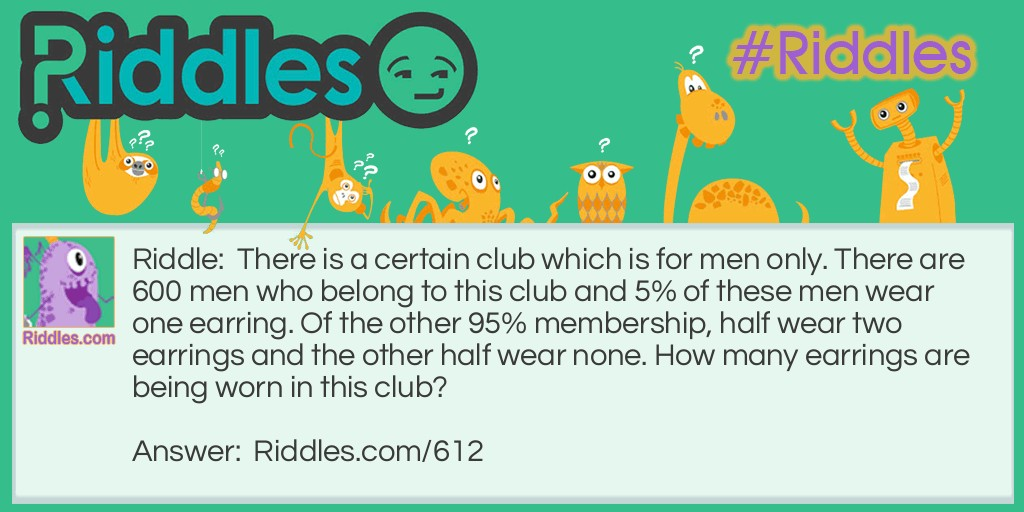 Mens Club Riddle Meme.