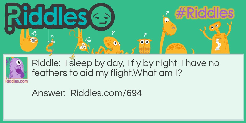 No feathers to aid my flight Riddle Meme.