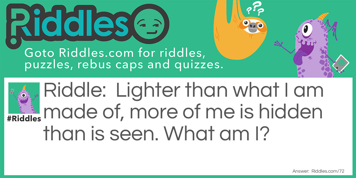 I am Hidden Riddle Riddle Meme.