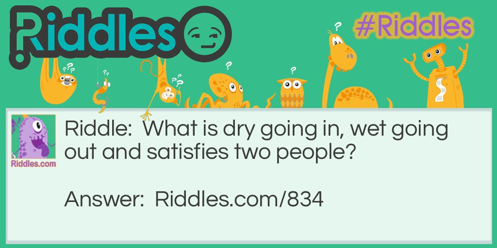 Satisfaction! Riddle Meme.