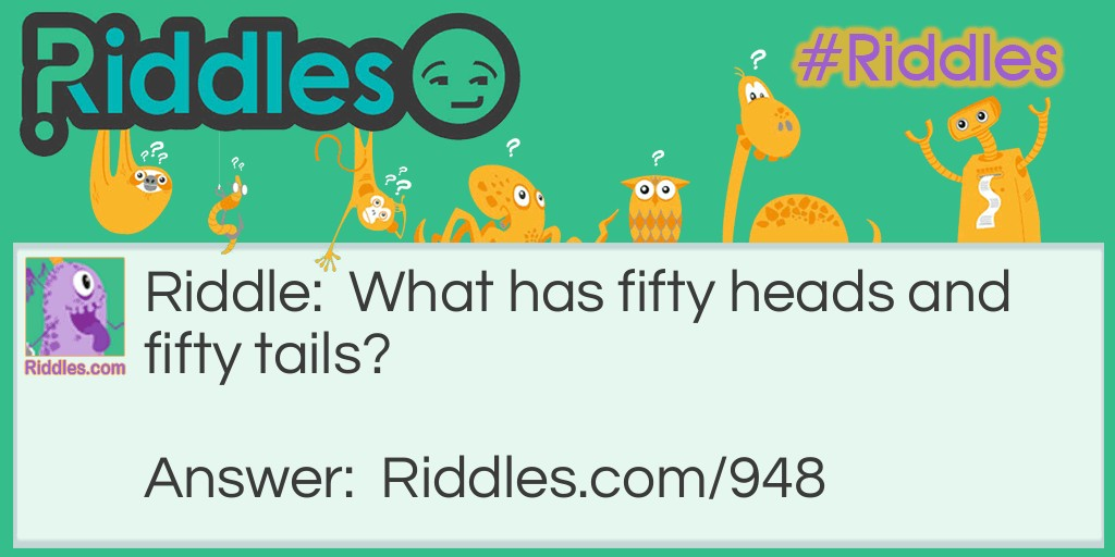 Heads and Tails Riddle Meme.